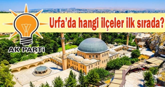AK Parti Urfa 12 ilçeyi aldı.