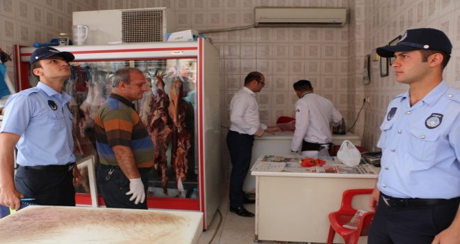Ceylanpınar'da Ramazan Öncesi Kasaplara Sıkı Denetim