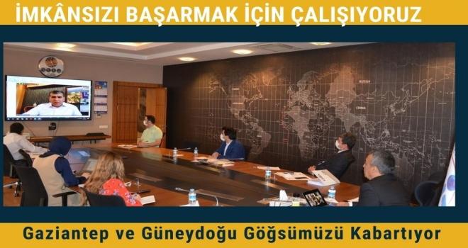 TİM-GAİB İstişare Toplantısı TİM Başkanı İsmail Gülle Başkanlığında Gerçekleştirildi