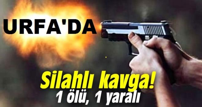 Urfa'da yine silahlı kavga: Kardeşlerden 1 öldü diğeri ağır yaralı!