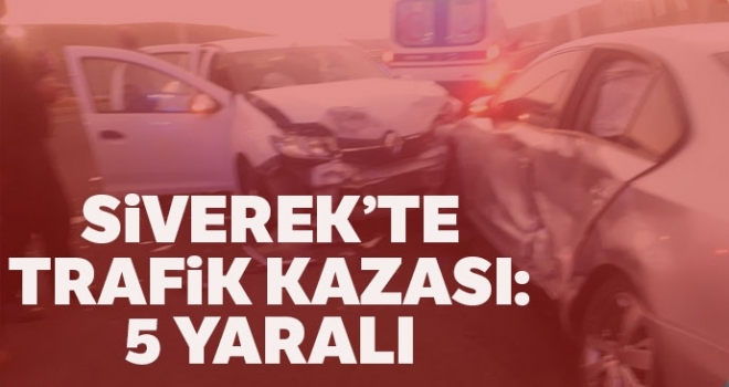 Siverek'te Feci Kaza: 5 Yaralı