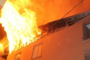 Denizli'de yangın faciası: 2 çocuk öldü