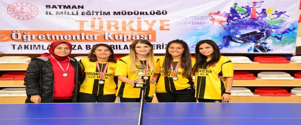 Türkiye Öğretmenler Kupası Türkiye Finallerine Katılmaya Hak Kazandı