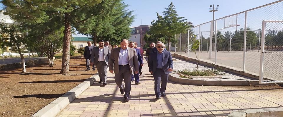 Milletvekili M. Kasım Gülpınar'dan Harran Üniversitesine Ziyaret