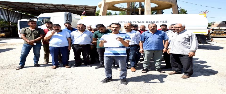 Belediye Personelinden Başkan Aksak'a büyük destek