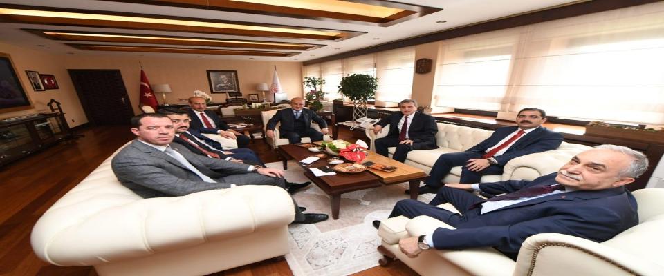 BAŞKAN CANPOLAT, ANKARA'DA GÖBEKLİTEPE'Yİ KONUŞTU