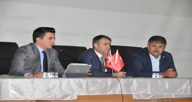 """""""Zeytin-Temalı Ağaçlandırma Kampanyası"""""""