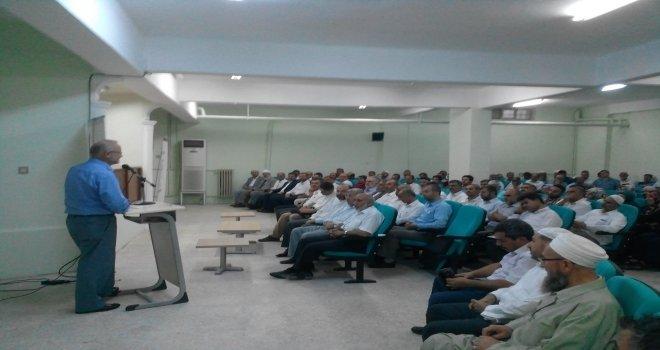 Diyanet İşleri Başkan Yardımcısı Prof. Dr. Yavuz Ünal Şanlıurfa İl Müftülüğü'nü ziyaret etti.