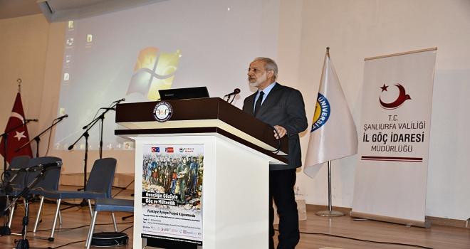 Harran Üniversitesi'nde Gençliğin Gözüyle Göç ve Mültecilik Çalıştayı Düzenleniyor
