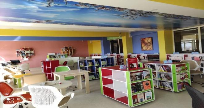 Şanlıurfa Proje Okulları Yeni Kütüphanelerine Hızla Kavuştu