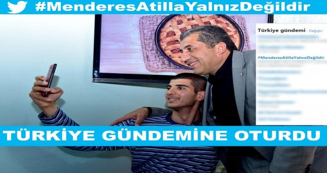 Ceylanpınar tek yürek oldu: Menderes Atilla diyor