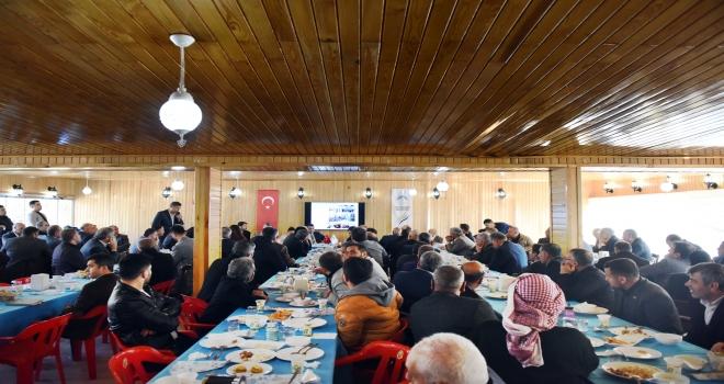 BAŞKAN CANPOLAT ŞAMPİYONLARLA BİRLİKTE CUMHURBAŞKANI ERDOĞAN'I ZİYARET ETTİ