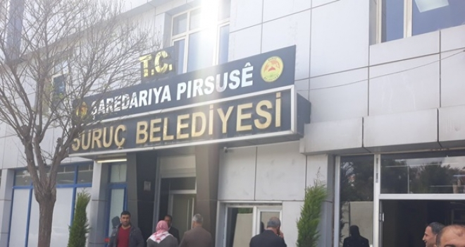 HDP'li Suruç Belediyesi 9 Devlet Yanlısını işten çıkardı.
