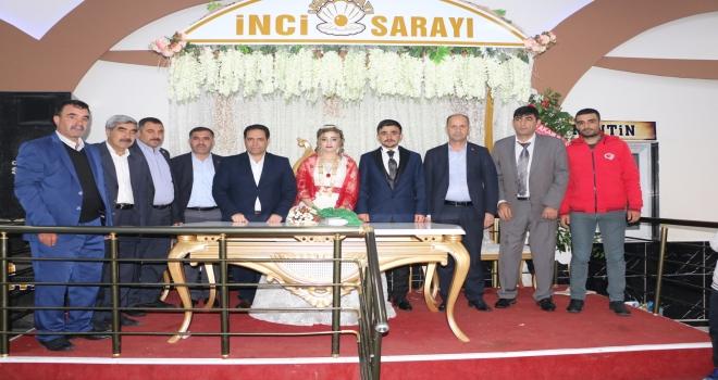 Başkan Yavuz, Şehit kardeşinin Düğün Törenine Katıldı