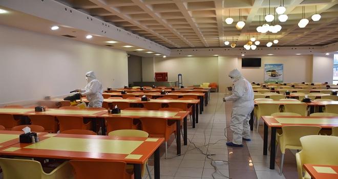 Harran Üniversitesi'nde Temizlik Personellerine Hijyen Eğitimi Verildi