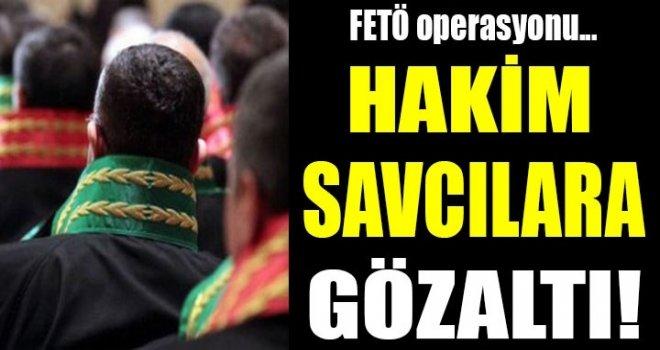 İzmir'de hakim ve savcılara şok operasyon