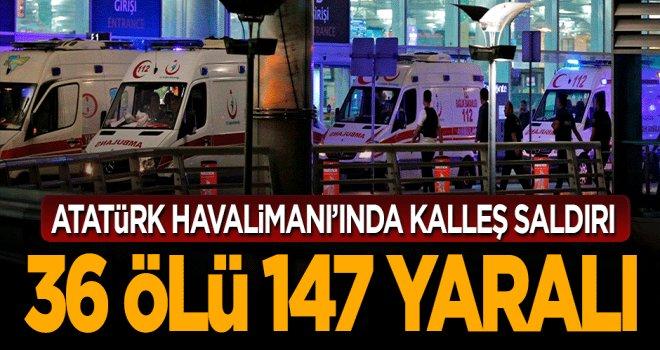 Kalleş saldırıda 36 ölü, 147 yaralı