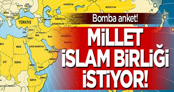 Millet İslam Birliği istiyor!
