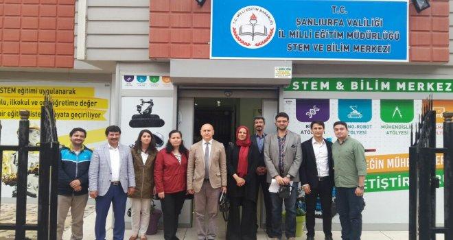 Milli Eğitim Bakanlığı Yenilik ve Eğitim Teknolojileri Genel Müdürlüğü Araştırma Ekibi Müdürlüğümüzü ve STEM Merkezini Ziyaret Etti