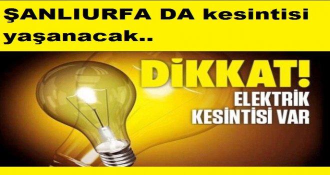 Planlı elektrik kesintisi yaşanacak
