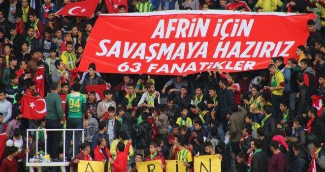 Şanlı taraftar Afrin'i unutmadı