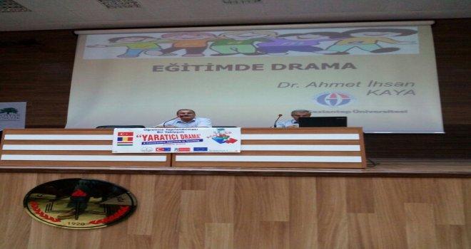 Şanlıurfa İl Milli Eğitim Müdürlüğü Eğitimde Drama Semineri