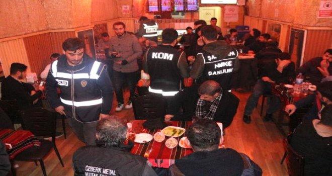 Şanlıurfa'da 500 Polis ile Huzur Operasyonu