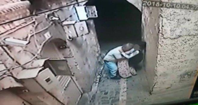 Şanlıurfa'da küçük kıza cinsel taciz kameralarda!