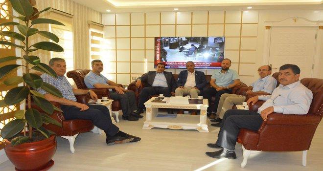 STK'lardan Başkan Atilla'ya Destek Ziyareti