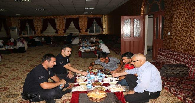 Suruç SHM şehit aileleri ve gaziler onuruna iftar verdi