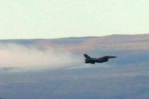 Türk uçakları Musul semalarına