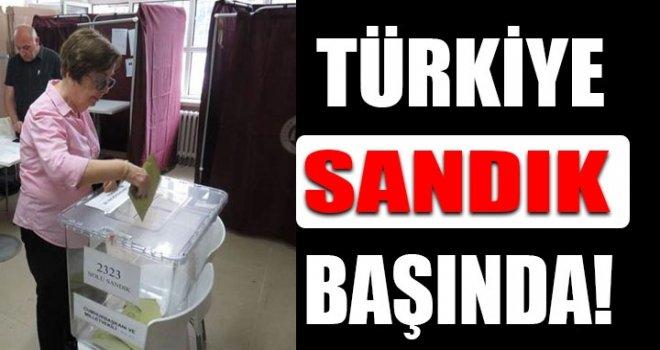 Türkiye, Cumhurbaşkanını ve yeni vekillerini seçiyor...