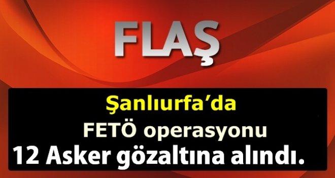 Urfa'da Fetö Operasyonu!.